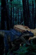 AdultAllosaurusvsGiganotosaurus