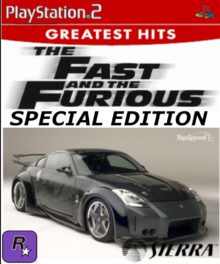 The Fast and the Furious Special Edition PS2 Cover Art
