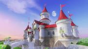 SMO Peach's Castle Location
