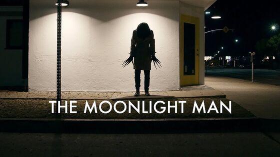 Moonlight man poster
