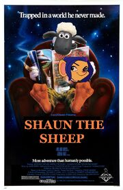 Shaun the Sheep (Howard the Duck) Poster