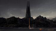 Mustafar in Episode 8, Darth Vader's now abandoned castle