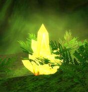 Yellow Power Crystal