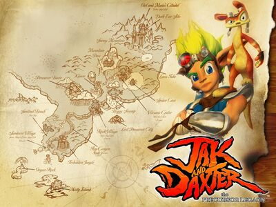Jak and Daxter The Precursor Legacy poster