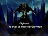 Digimon: The Duel of BlackWarGreymon