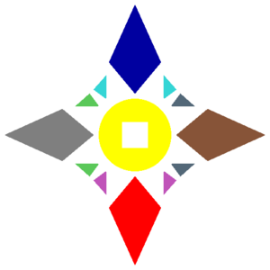 Four Holy Cities Insignia