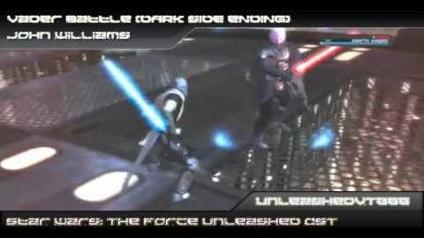 SW The Force Unleashed Custom Soundtrack - Vader Battle (Dark Side Ending)