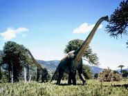 Blue-Sided Brachiosaurus