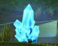 Blue Power Crystal