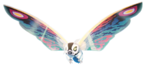Rainbow mothra render by chrisufray ddmvhyu-fullview