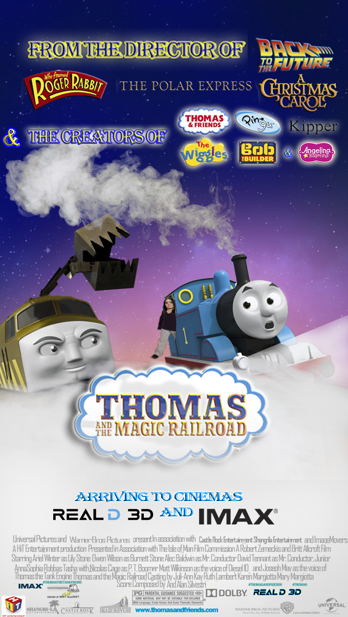 Thomas and The Magic Railroad (2019) | Fanon Wiki | FANDOM powered