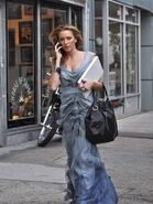 Katie cassidy gown gossip girl