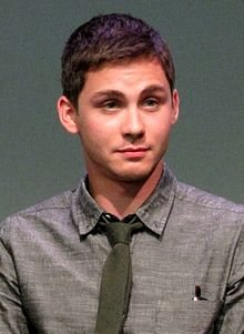Logan Lerman at the Apple Store Soho in New York City, July 29, 2013