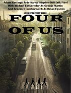 Four Of Us poster with names