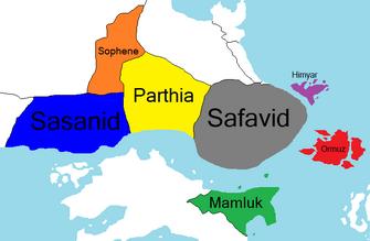 Persia divisions