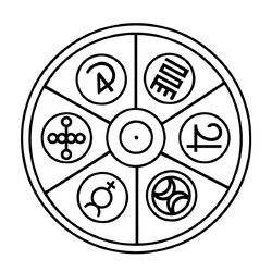 The Merlin Circle Symbol