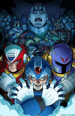 Megaman x fanart by zacharyxbinks-d5hilz5