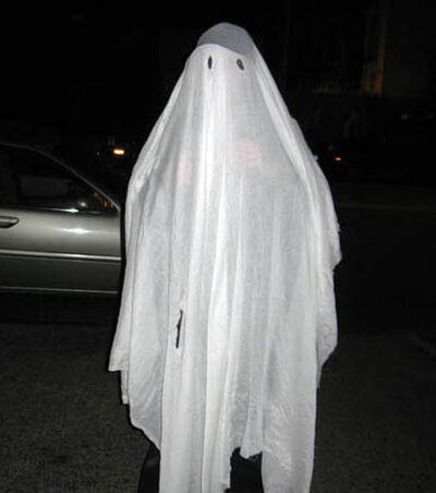 Ghost-sheet-costume
