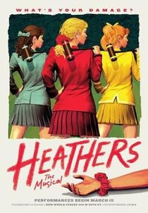 Heathers The Musical Off-Broadway Poster