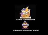 Martin Gates Productions Logo - The Flying Cats