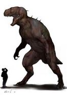 T-Rex/Human Hybrid