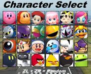 KARZG Character Select (All Characters Unlocked)