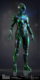 Evil green ranger