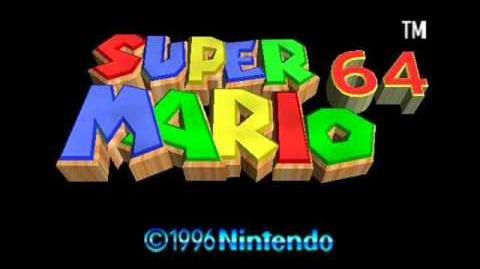 Super Mario 64 Soundtrack - Cave Dungeon