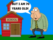 I am old and i go to school