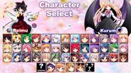 TAT Character Select Screen