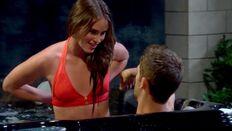 Robyn in her bikini top