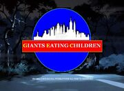 Giants Eating Children Season 1 Title Card