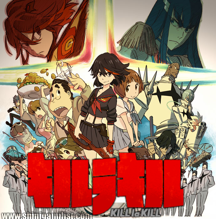 Kill La Is A 2016 Action Comedy Fantasy Film Based On Anime Show Starring Eliza Bennett And Elizabeth Olsen