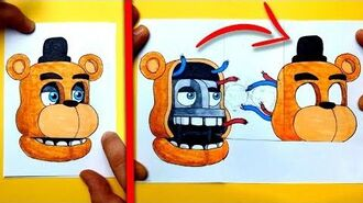 CREATE YOUR FNAF ANIMATRONICS - 7 COOL Five Nights at Freddy's DIY IDEA CHALLENGE You cant hide