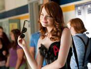 Emma stone in easy a-normal