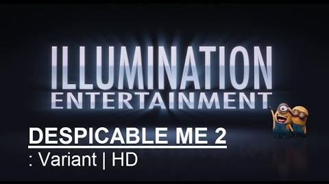 Universal Pictures Illumination Entertainment - Intro Logo Despicable Me 2 (2013) HD