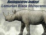 Lemurian Rhinoceros