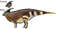 Parasaurolophus (SciiFii)