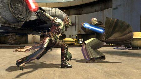 Starkiller vs. Obi-Wan