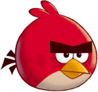 Red AngryBirds Artwork