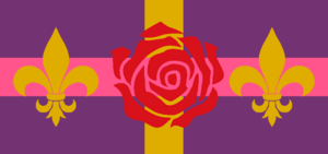 Rose Knights flag