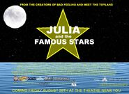 Julia and the Famous Stars US Poster