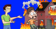I got his house on fire for good, but now i regret what i had done!