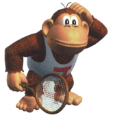 Donkey Kong Jr MT64 art