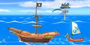 Pirate Ship Brawl Stage