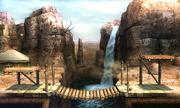 Gerudo Valley 3DS stage