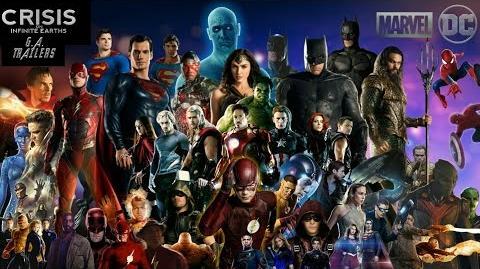 Marvel DC Crisis on Infinite Earths Trailer (Fan Made)