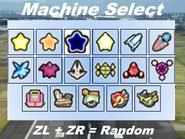 Machine Select 1