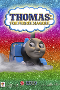 Thomas and the Magic Railroad 2019 French Poster