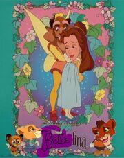 Bellelina (Princess Belle Style) Poster